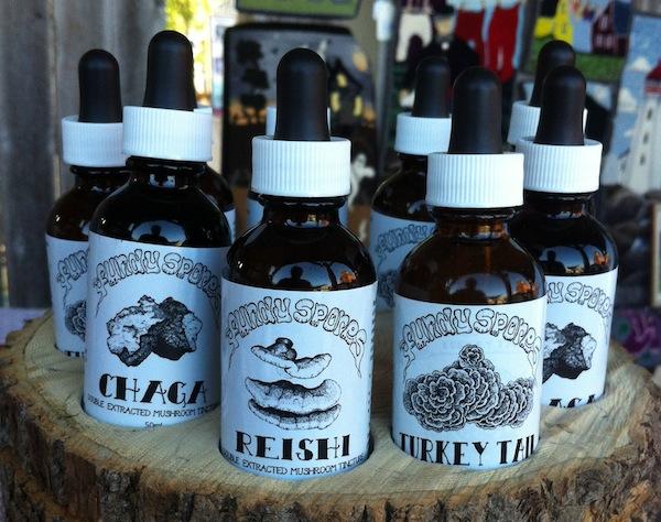 Tincture bottles August 6 2016